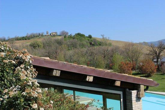 Borgo Lanciano Relais Benessere: Il retro della SPA