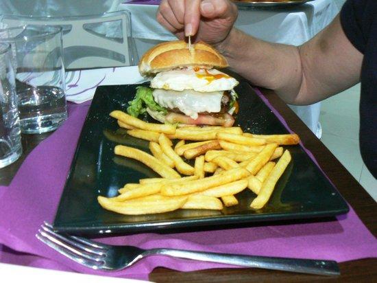 Hotel K10 : comida