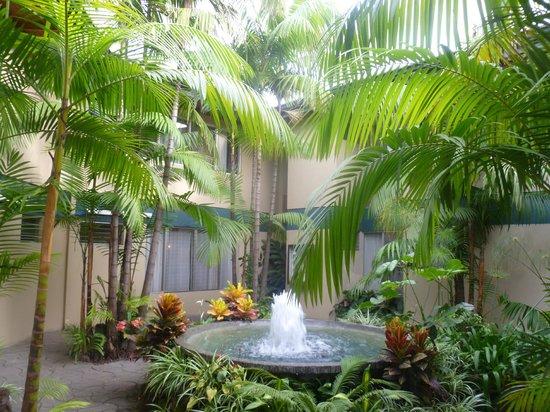 Hotel Villa Tournon: Innenhof