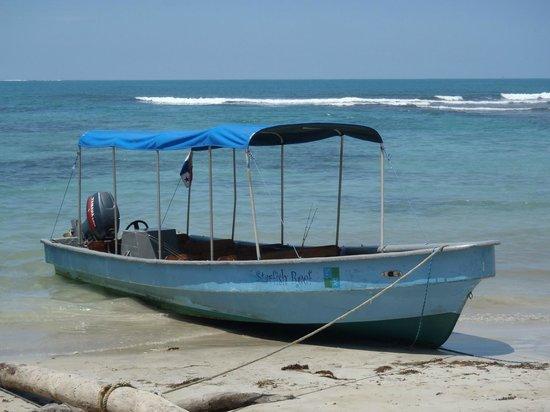 Starfish Reef Resort: Starfish Reef Tour Boat
