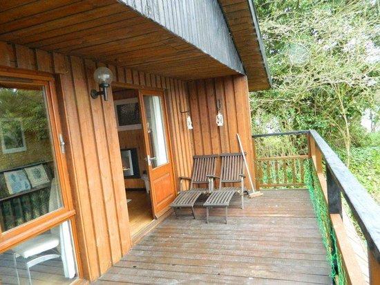 York Lakeside Lodges: balcony