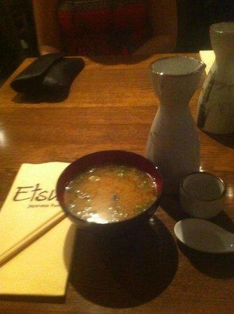 Etsu Japanese Restaurant : .