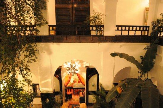 Dar Abiad: inside garden