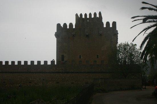 Torre de Canyamel: The tower in poor weather!