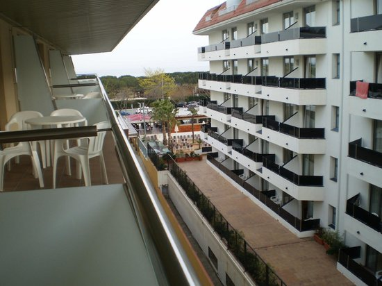 Odissea Park Aparthotel: Balkon