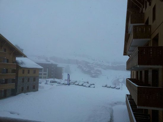 Residence LVH Vacances - Sun Valley : vue jour du départ