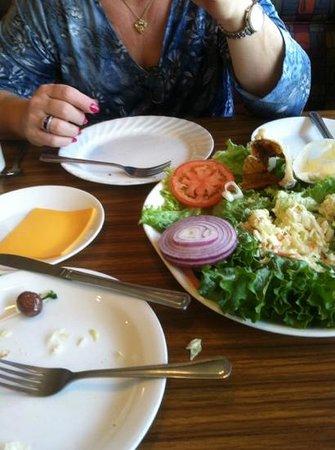 Benjies Restaurant-Deli & Bkry: poor choice
