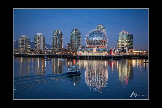 Vancouver Photo Tours - Science World skyline