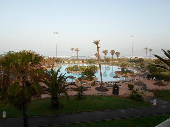 ClubHotel Riu Tikida Dunas: View from our balcony