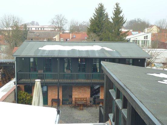 Der Seehof Rheinsberg: Ausblick DZ