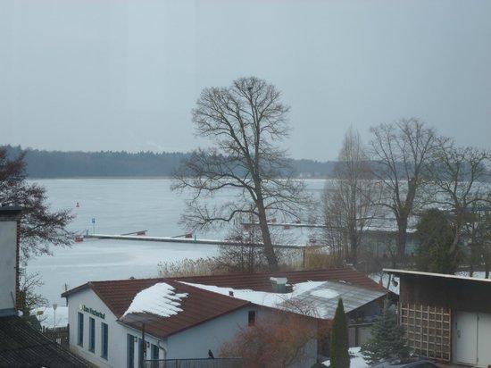 Der Seehof Rheinsberg: Aussicht  DZ