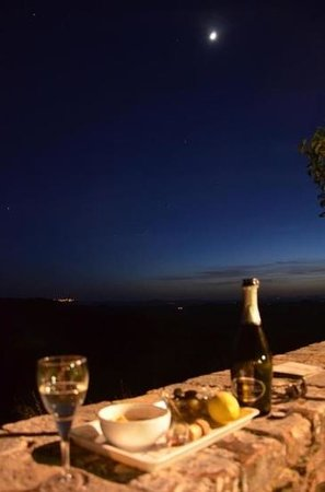 Agriturismo Sant'Anna in Camprena: starry night
