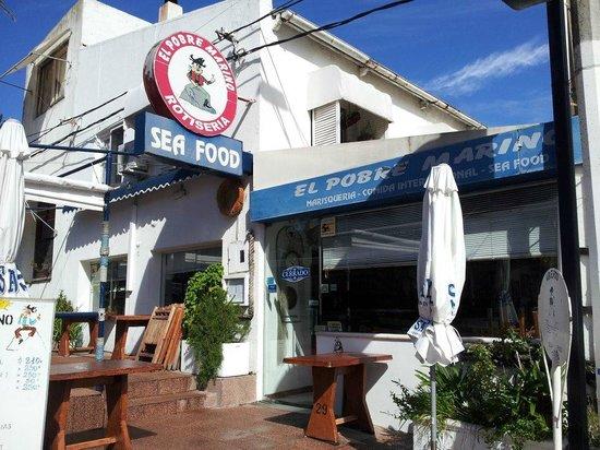 Restaurante El Pobre Marino.