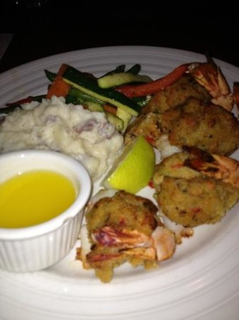Chardonnay's Restaurant: Baked Stuffed Shrimp