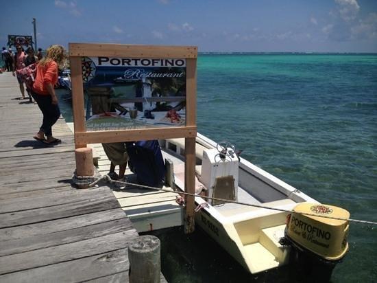 "Portofino Beach Resort: Hotel ""shuttle"" dock in San Pedro"
