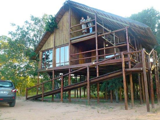 Pezulu Tree House Game Lodge: la cabane à deux chambres