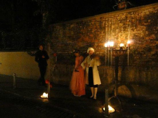 Secret of Grič: The story unfolds in the street