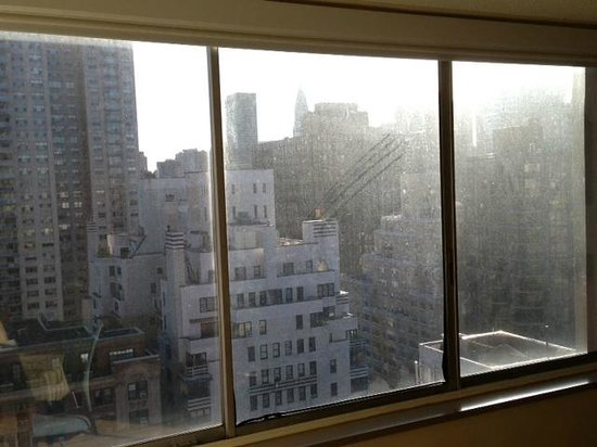 Sutton Court Hotel Residences: windows need to be cleaned inside out at sutton court residences NY