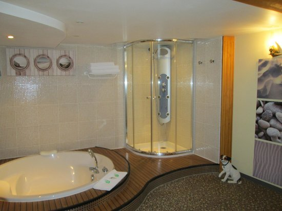 La Chatellerie du Schoebeque : salle de bain