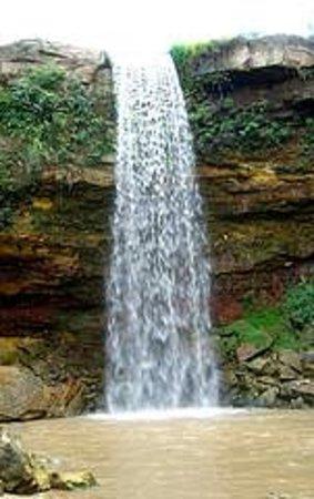 Alta de Taruma waterfalls Foto