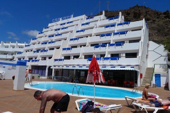 Piscina foto di carlota apartments portorico tripadvisor for Normativa piscinas canarias