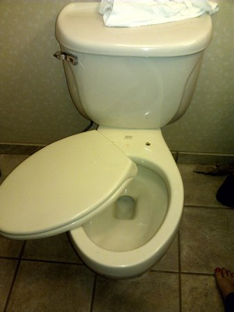 Comfort Inn & Suites: our broken toilet