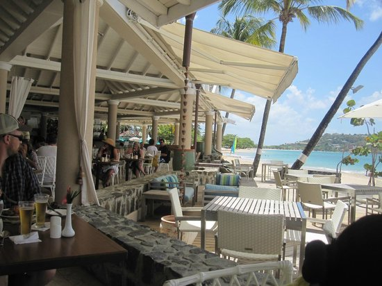 Rendezvous Resort : view from dinning area