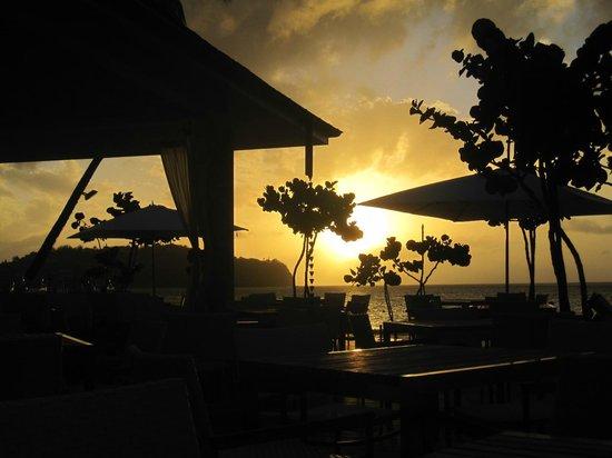 Rendezvous Resort : sunset from terrace