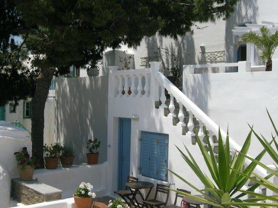 Hotel Carbonaki : εξωτερικός χώρος