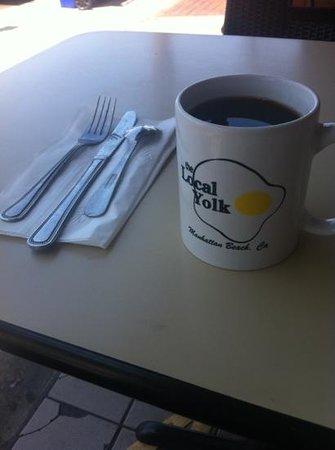the local yolk logo mug