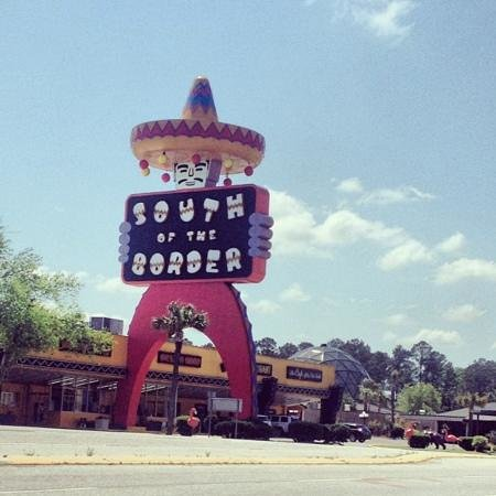 South of the Border: there it is!