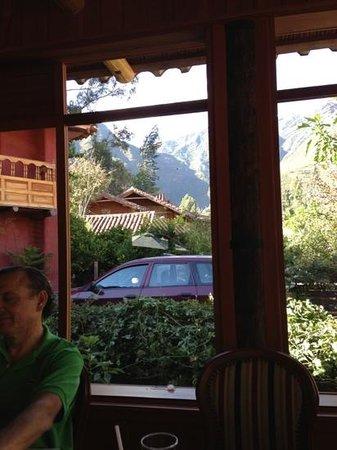 Ananau Restaurante : vista desde el comedor