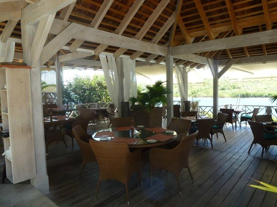 Nonsuch Bay Resort: The restaurant