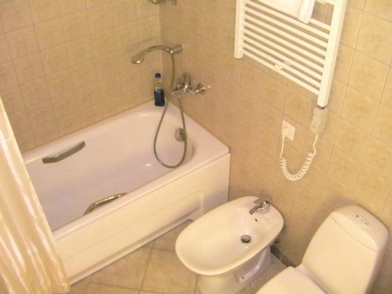 Ratonda Centrum Hotels: Bathroom