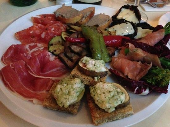 Mappa: antipasti for 3. YUM!