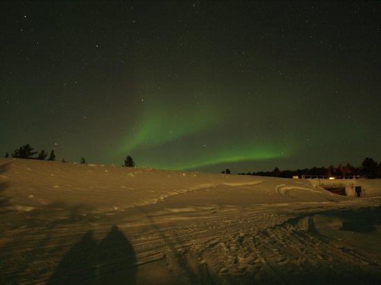 Kakslauttanen Arctic Resort : The lights
