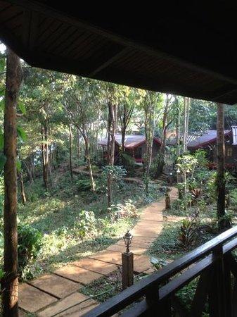 Paksong, Laos: prachtige locatie