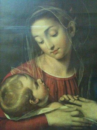 Lazio, Italië: Madonna con bambino