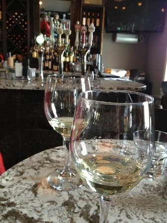 The Mill Cafe: happy hour wine!