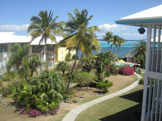 Colony Cove Beach Resort : View from patio unit A303