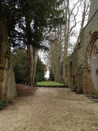 Oak Room @ Ettington Park: chapel in the grounds