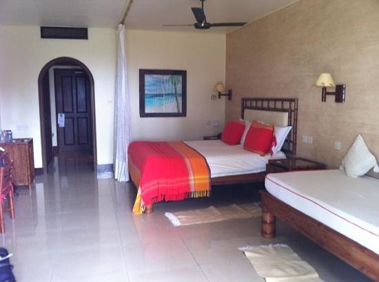 Hemingways Watamu: large comfortable rooms