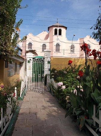 Hotel La Casa de mi Abuela: Entrée de l'hôtel