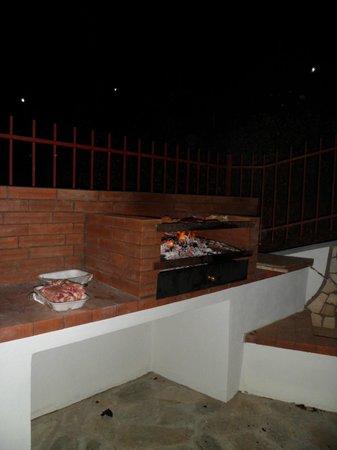Residence Soleluna: Barbecue