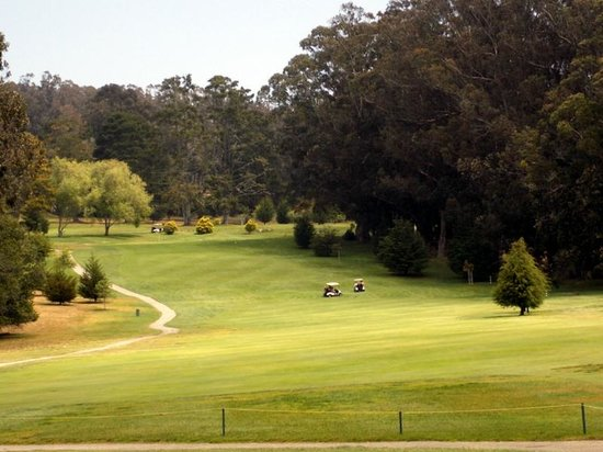 Morro Bay Golf Course: Beautiful par 5s