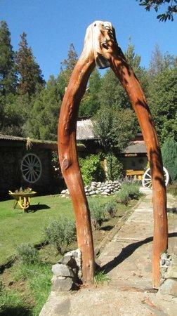 El Quincho de Danilo : El jardin del quincho