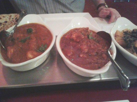 Taj India: Banquet curry night