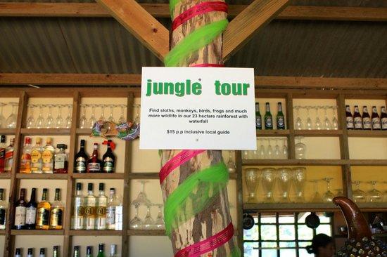 Playa Bluff Beach Restaurant: Eco Tours