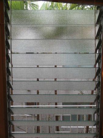 Richmond Studios: lovely vintage swivel glass windows