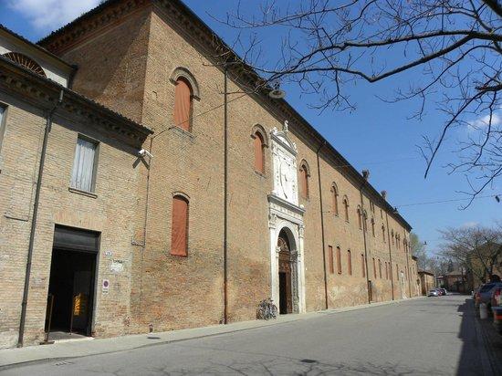 Palazzo Schifanoia (Palazzo della Gioia): Palazzo Schifanoia - facciata
